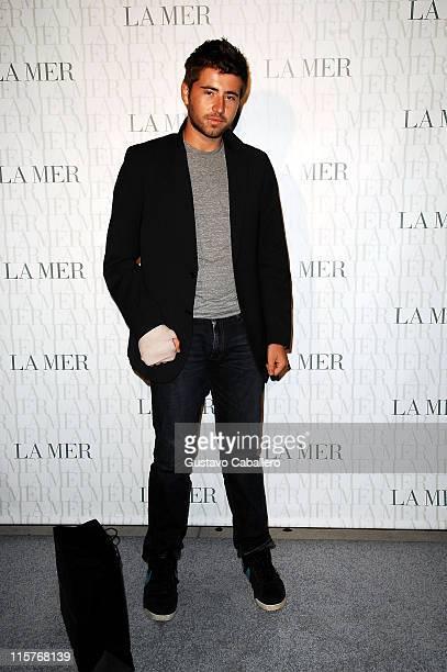 Matt Baron attends the La Mer Celebrates 'Liquid Light' By Fabien Baron at The Glass Houses on September 10 2008 in New York City