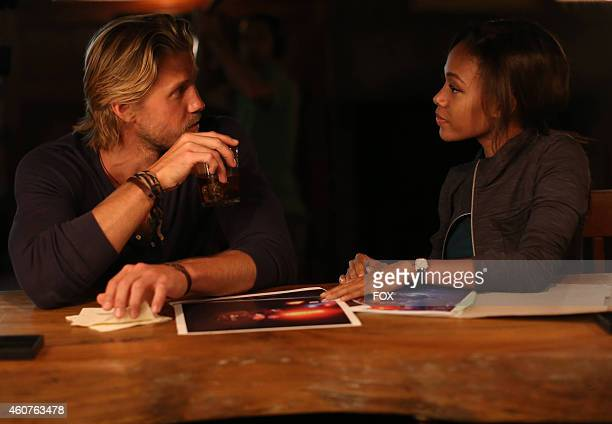 Matt Barr and Nicole Beharie in the 'Heartless' episode of SLEEPY HOLLOW airing Monday Nov 10 2014 on FOX