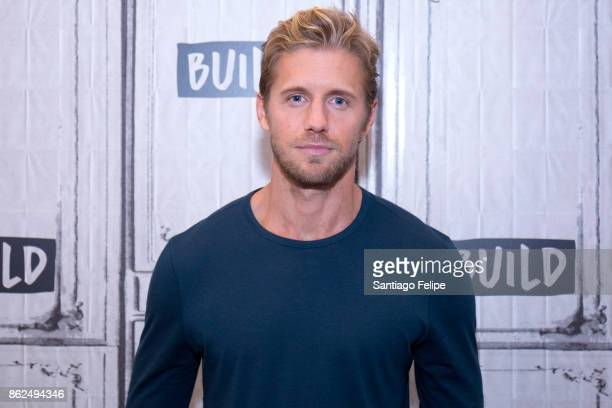 Matt Barr attends Build Presents to discuss his show 'Valor' at Build Studio on October 17 2017 in New York City