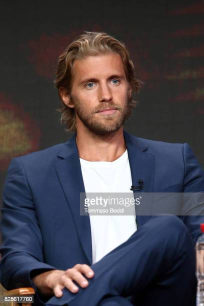 Matt Barr attends the 2017 Summer TCA Tour CW Panels at The Beverly Hilton Hotel on August 2 2017 in Beverly Hills California