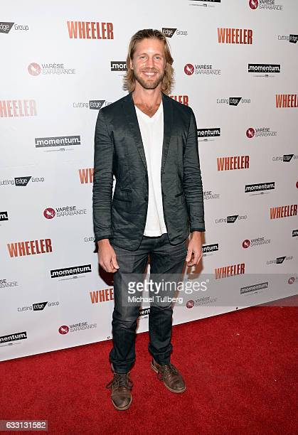 Matt Barr attends the premiere of Momentum Pictures' 'Wheeler' at the Vista Theatre on January 30 2017 in Los Angeles California