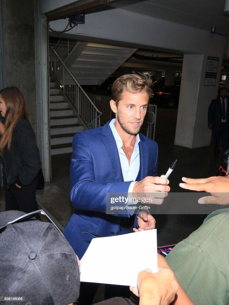 Matt Barr is seen on August 23, 2017 in Los Angeles, California.