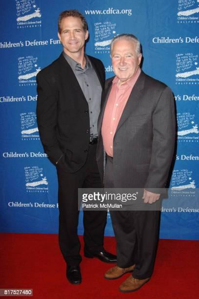 Matt Battaglia and Carmen Battaglia attend Children's Defense Fund California 20th Annual 'Beat the Odds' Awards at the Beverly Hills Hotel on...