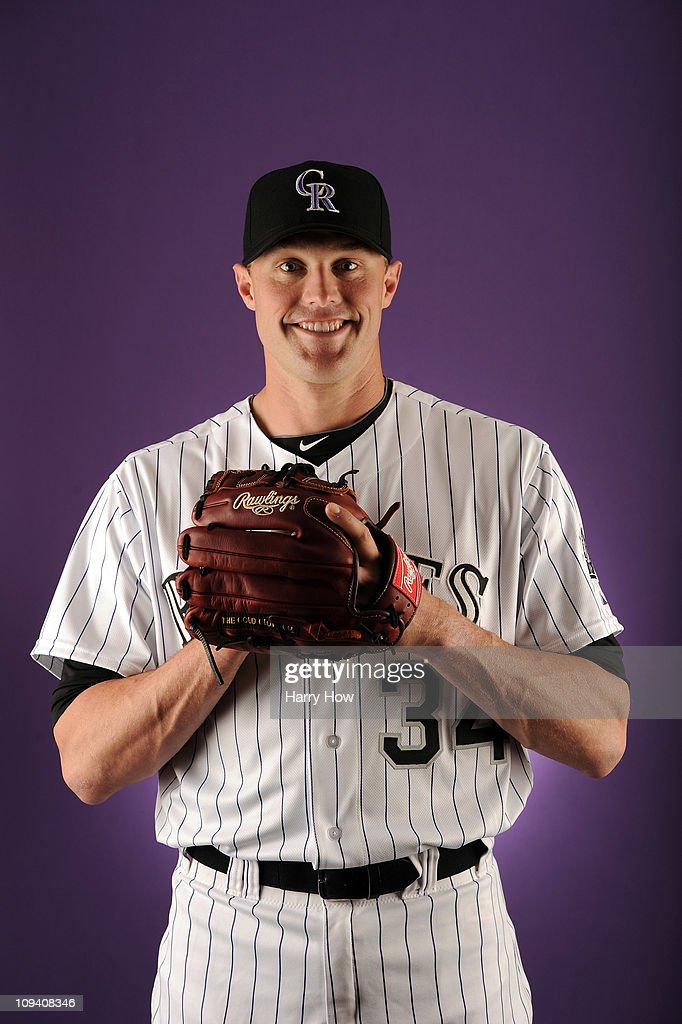Matt Belisle #34 of the Colorado Rockies poses for a portrait during photo day at the Salt River Fields at Talking Stick on February 24, 2011 in Scottsdale, Arizona.