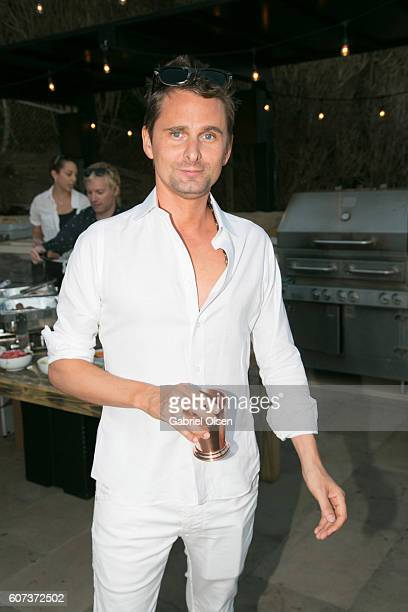 Matt Bellamy of Muse attends the Treats Magazine 4th Annual White Party Sponsored By Stella Artois on September 17 2016 in Malibu California