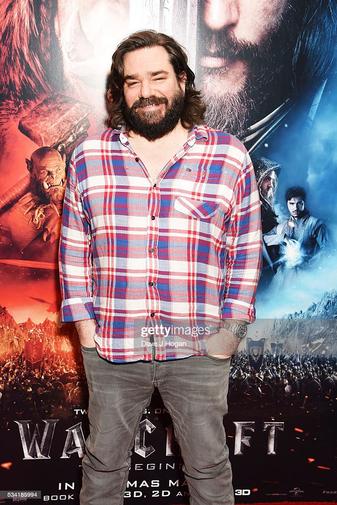 Matt Berry attends a special screening of 'Warcraft: The Beginning' at BFI IMAX on May 25, 2016 in London, England.