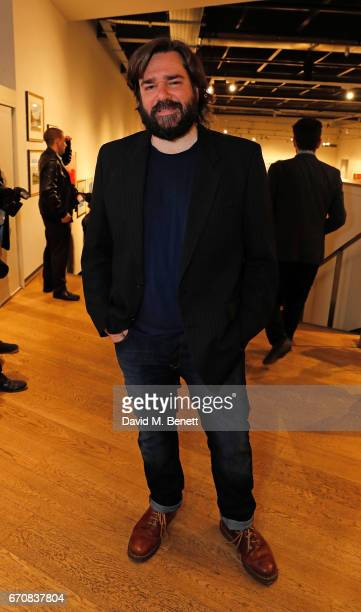 Matt Berry attends the press night after party for 'The Philanthropist' at the Mall Galleries on April 20 2017 in London England