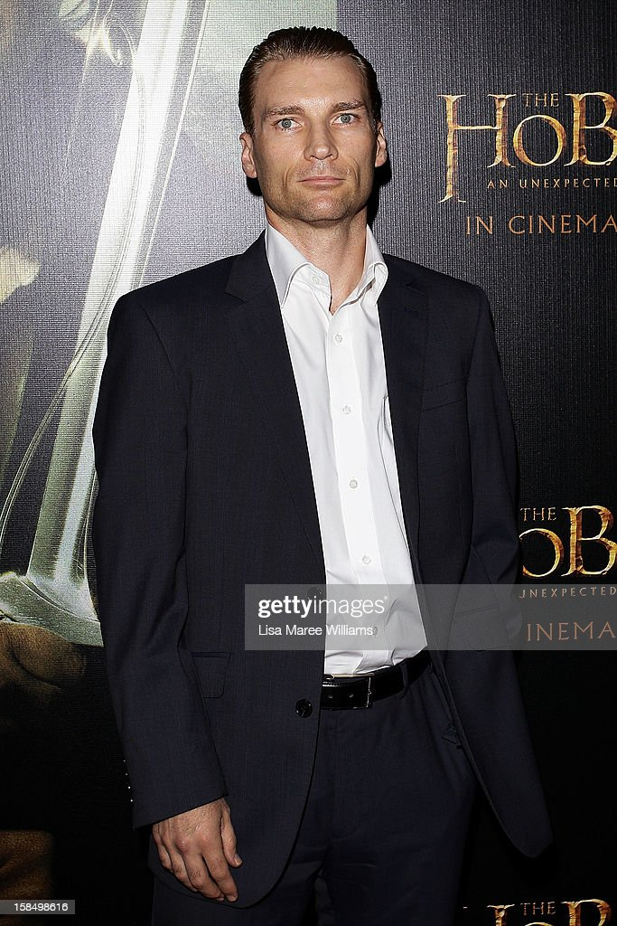 Matt Boesenberg attends the Sydney premiere of 'The Hobbit: An Unexpected Journey' at George Street V-Max Cinemas on December 18, 2012 in Sydney, Australia.