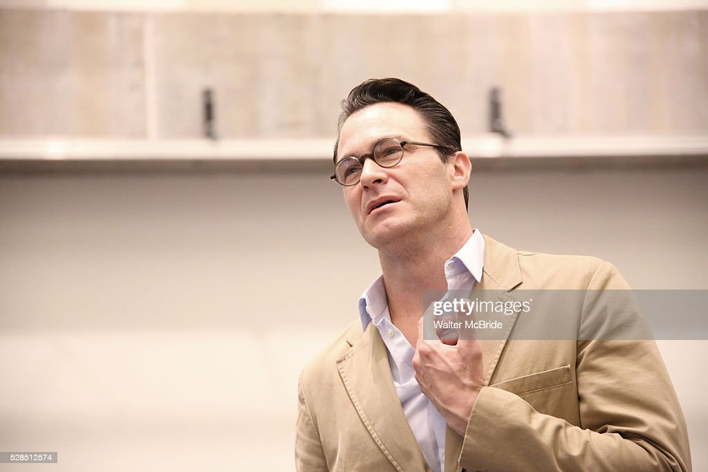 Matt Bogart during the 'Himself and Nora The Musical' - Press Preview at the Signature Theatre Rehearsal Studios on May 5, 2016 in New York City.