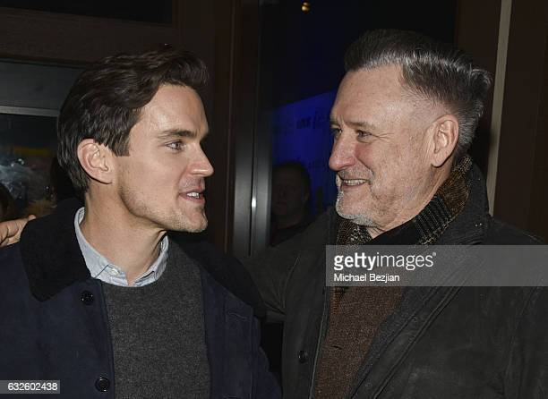 Matt Bomer and Bill Pullman attend the 'Walking Out' Party At The #IndieLounge at Indie Lounge on January 22 2017 in Park City Utah