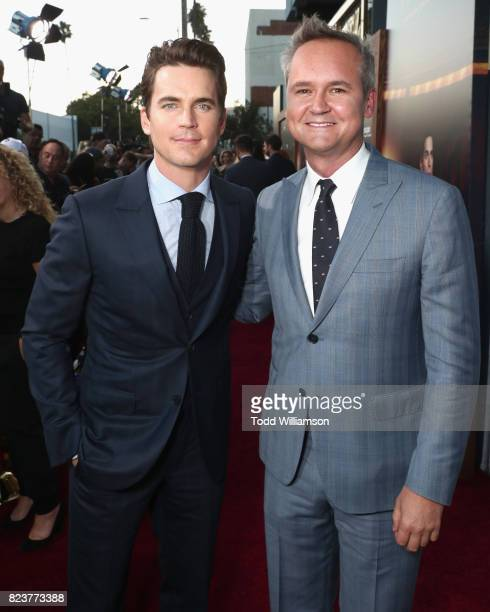 Matt Bomer and Head of Amazon Studios Roy Price at the Amazon Prime Video premiere of the original drama series 'The Last Tycoon' at Harmony Gold...