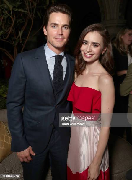 Matt Bomer and Lily Collins at the Amazon Prime Video premiere of the original drama series 'The Last Tycoon' at Chateau Marmont on July 27 2017 in...