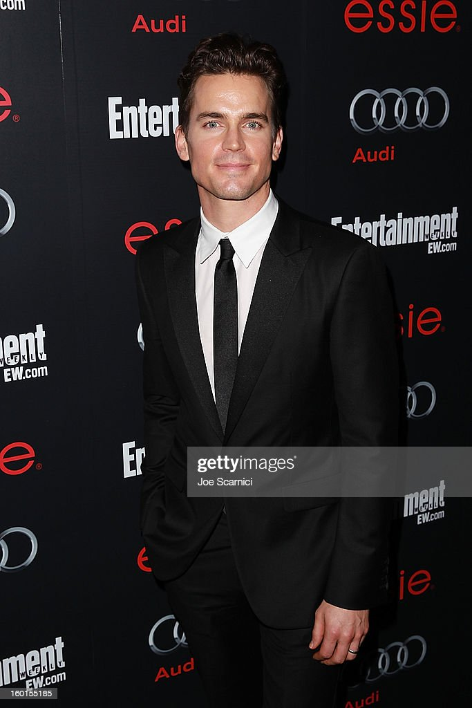 Matt Bomer arrives at Entertainment Weekly Screen Actors Guild Awards Pre-Party at Chateau Marmont on January 26, 2013 in Los Angeles, California.