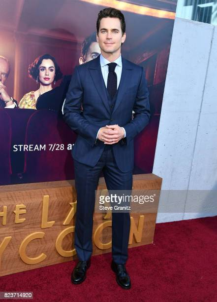 Matt Bomer arrives at the Premiere Of Amazon Studios' 'The Last Tycoon' at the Harmony Gold Preview House and Theater on July 27 2017 in Hollywood...