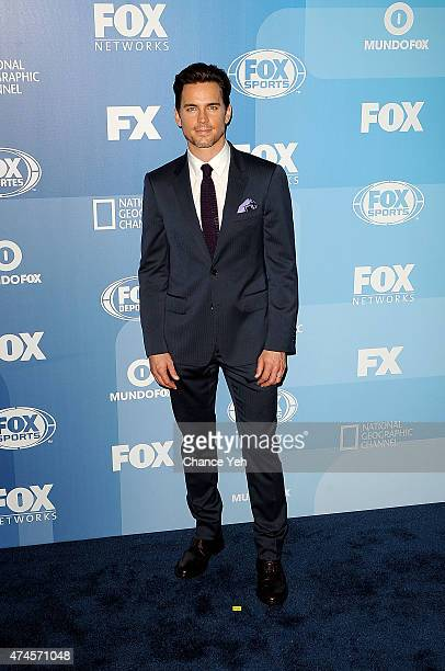 Matt Bomer attends 2015 FOX Programming Presentation at Wollman Rink Central Park on May 11 2015 in New York City