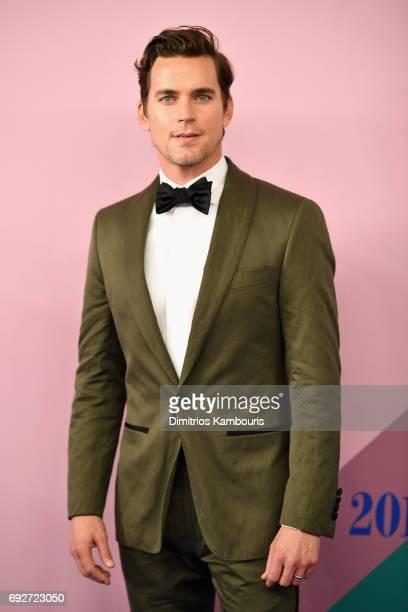 Matt Bomer attends the 2017 CFDA Fashion Awards at Hammerstein Ballroom on June 5 2017 in New York City