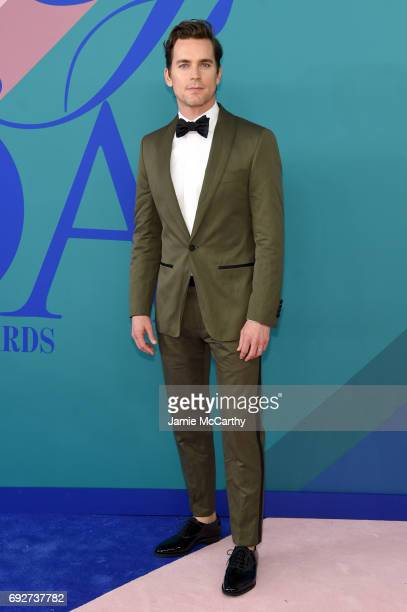 Matt Bomer attends the 2017 CFDA Fashion Awards at Hammerstein Ballroom on June 5 2017 in New York City