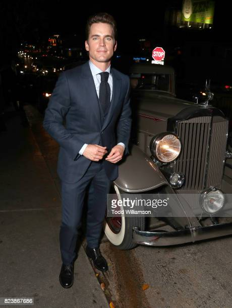 Matt Bomer attends the Amazon Prime Video premiere of the original drama series 'The Last Tycoon' at Chateau Marmont on July 27 2017 in Los Angeles...