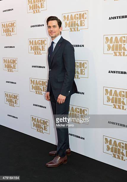 Matt Bomer attends the Amsterdam premiere of 'Magic Mike XXL' on July 1 2015 in Amsterdam Netherlands