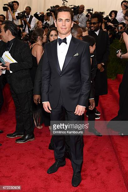 Matt Bomer attends the 'China Through The Looking Glass' Costume Institute Benefit Gala at the Metropolitan Museum of Art on May 4 2015 in New York...