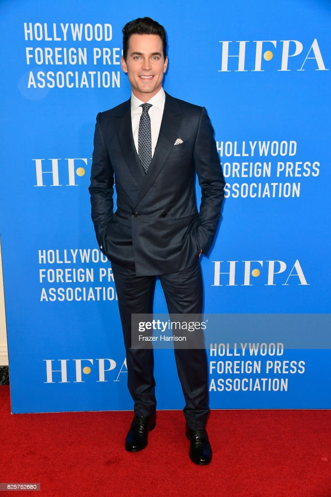 Matt Bomer attends the Hollywood Foreign Press Association's Grants Banquet at the Beverly Wilshire Four Seasons Hotel on August 2, 2017 in Beverly Hills, California.