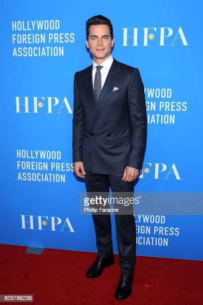 Matt Bomer attends the Hollywood Foreign Press Association's Grants Banquet at the Beverly Wilshire Four Seasons Hotel on August 2 2017 in Beverly...