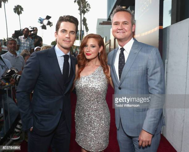 Matt Bomer Head of Amazon Studios Roy Price and Lila Feinberg at the Amazon Prime Video premiere of the original drama series 'The Last Tycoon' at...