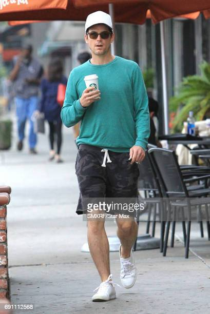 Matt Bomer is seen on May 31 2017 in Los Angeles California