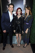 Matt Bomer Lily Collins and Rosemarie DeWitt attend the Sony Pictures Television Social Soiree Featuring Amazon Pilots 'The Last Tycoon' And 'The...