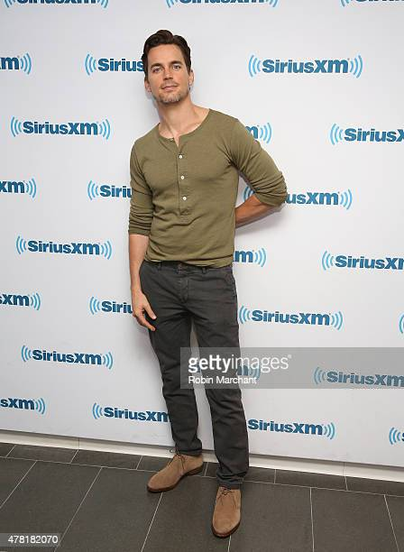 Matt Bomer visits at SiriusXM Studios on June 23 2015 in New York City