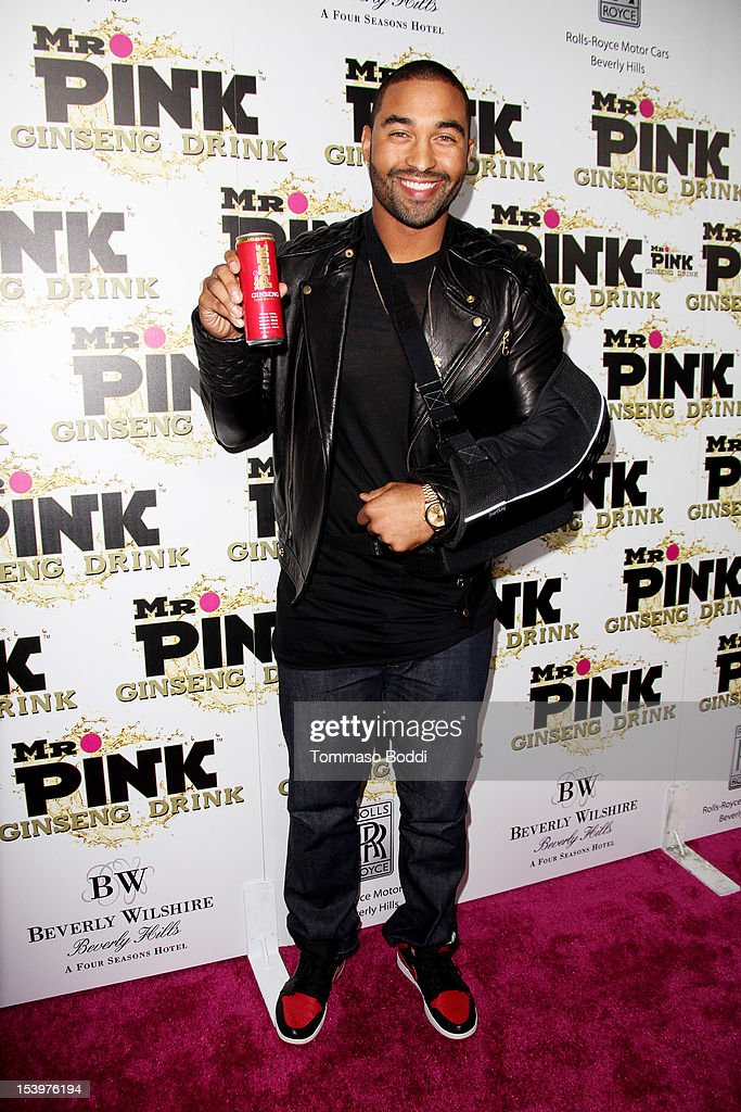 Matt Camp attends the Mr. Pink ginseng drink launch party held at the Regent Beverly Wilshire Hotel on October 11, 2012 in Beverly Hills, California.