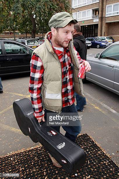 Matt Cardle sighted at a recording studio on October 18 2010 in London England