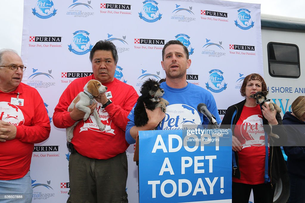 Matt Carroll attends the 22nd Annual Global Pet Adoption Event at North Shore Animal League America on April 30, 2016 in Port Washington, New York.