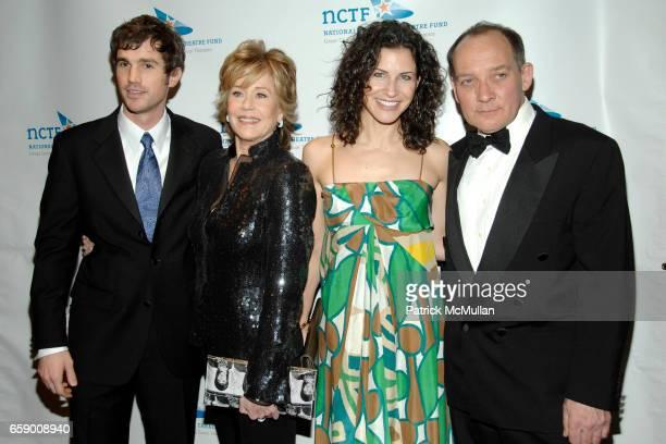 Matt Cavenaugh Jane Fonda Jenny Powers and Zach Grenier attend NATIONAL CORPORATE THEATRE FUND'S 2009 CHAIRMAN'S AWARDS GALA at Cipriani's Pegasus on...