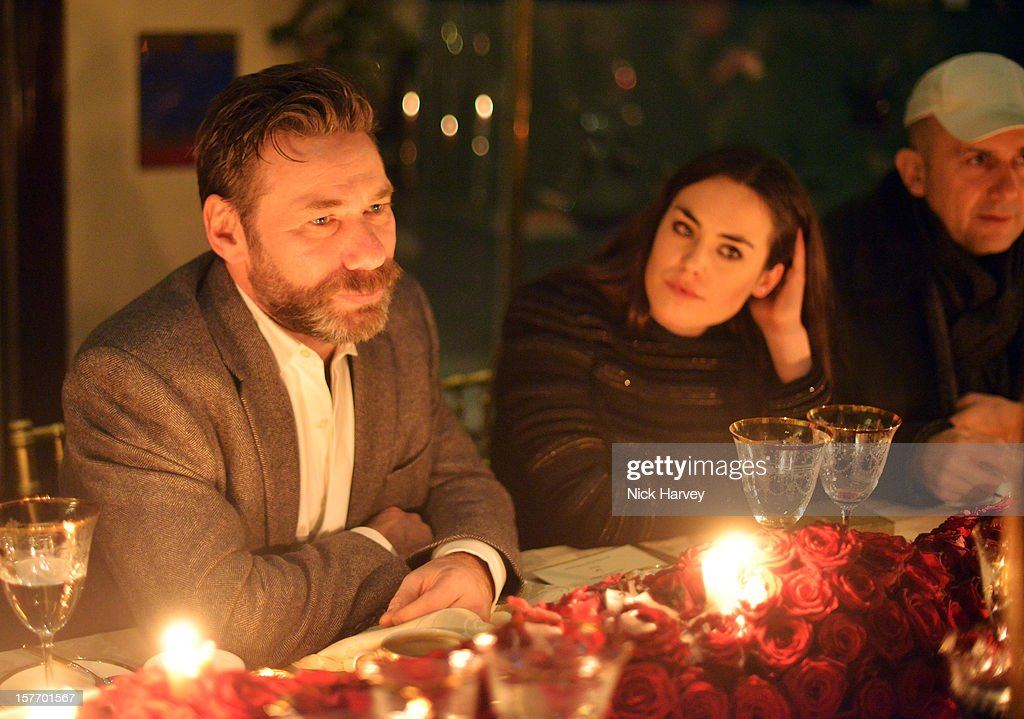 Matt Collishaw and Tallulah Harlech attend a dinner at Burlington Arcade after the flagship store launch of Salvatore Ferragamo's Old Bond Street Boutique at 24 Old Bond Street on December 5, 2012 in London, England.