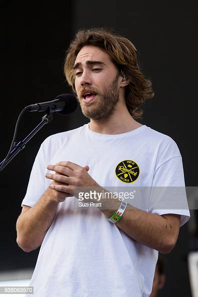 Matt Corby performs at the Sasquatch Music Festival at the Gorge Amphitheatre on May 27 2016 in George Washington