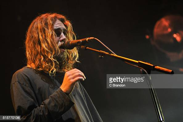 Matt Corby performs on stage at the Roundhouse on March 15 2016 in London England
