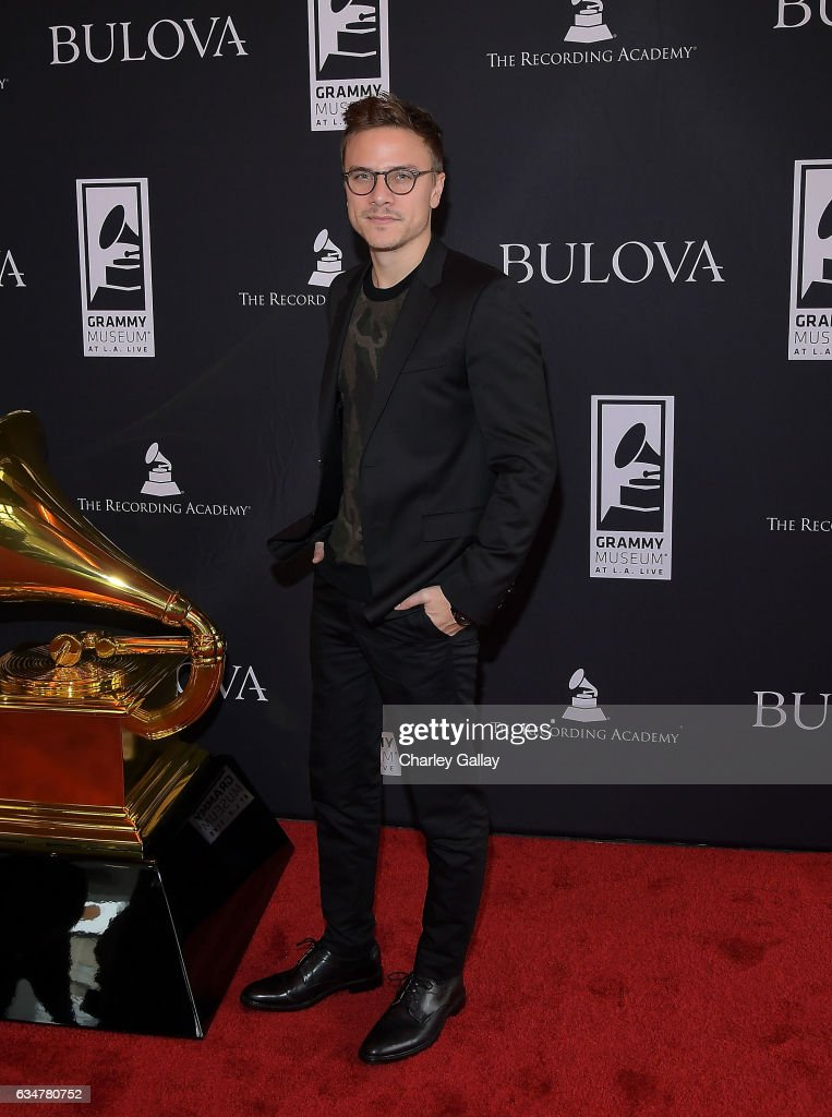 Matt Cutshall attends the Bulova x GRAMMY Brunch at The GRAMMY Museum on February 11, 2017 in Los Angeles, California.