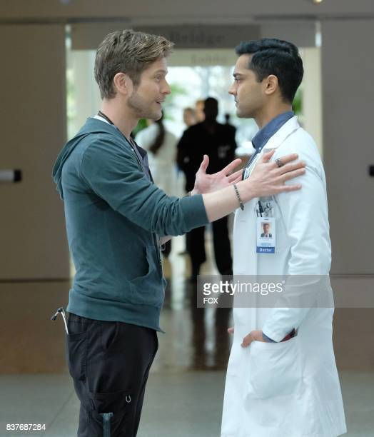 Matt Czuchry and Manish Dayal in THE RESIDENT premiering midseason on FOX