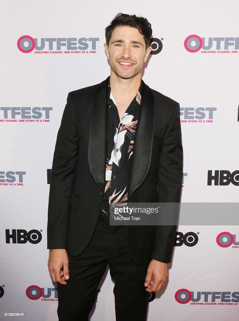 Matt Dallas arrives at the 2017 Outfest Los Angeles LGBT Film Festival - closing night gala screening of 'Freak Show' held at The Theatre at Ace Hotel on July 16, 2017 in Los Angeles, California.