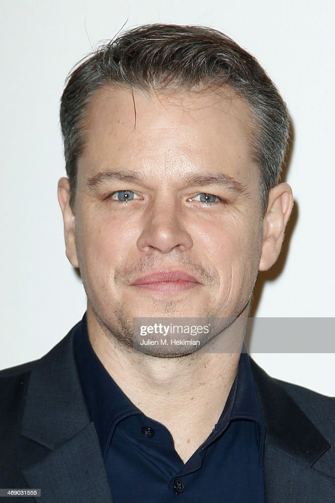 <a gi-track='captionPersonalityLinkClicked' href=/galleries/search?phrase=Matt+Damon&family=editorial&specificpeople=202093 ng-click='$event.stopPropagation()'>Matt Damon</a> attends 'Monuments Men' Paris premiere at Cinema UGC Normandie on February 12, 2014 in Paris, France.