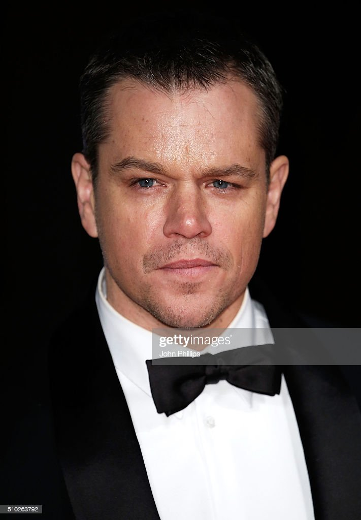 <a gi-track='captionPersonalityLinkClicked' href=/galleries/search?phrase=Matt+Damon&family=editorial&specificpeople=202093 ng-click='$event.stopPropagation()'>Matt Damon</a> attends the official After Party Dinner for the EE British Academy Film Awards at The Grosvenor House Hotel on February 14, 2016 in London, England.