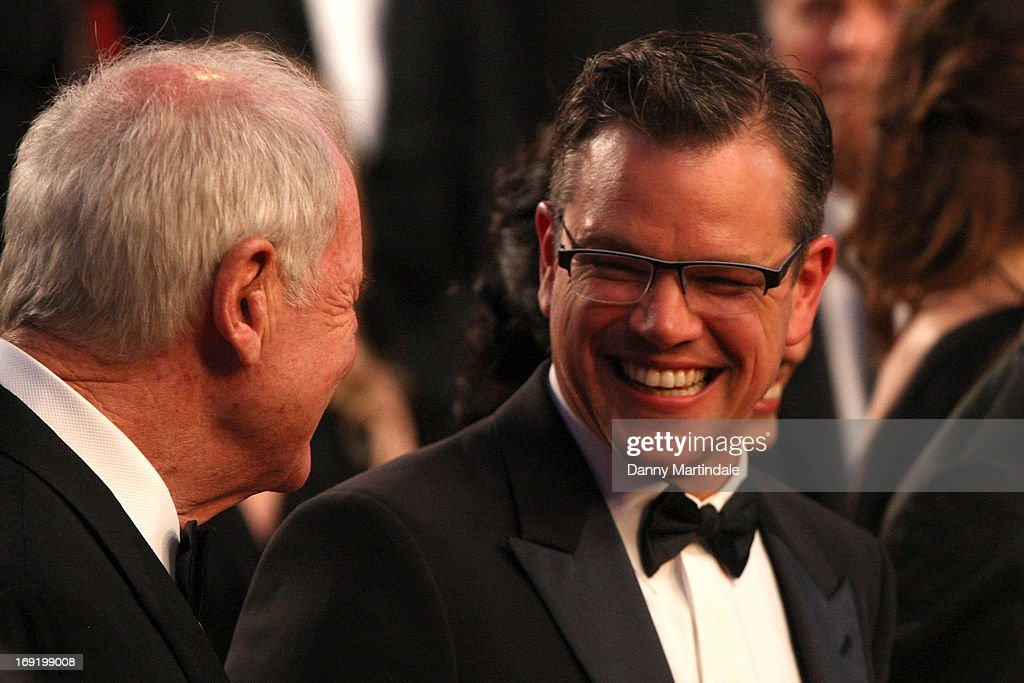 Matt Damon attends the Premiere of 'Behind the Candelabra' during the 66th Annual Cannes Film Festival at Palais des Festivals on May 21, 2013 in Cannes, France.