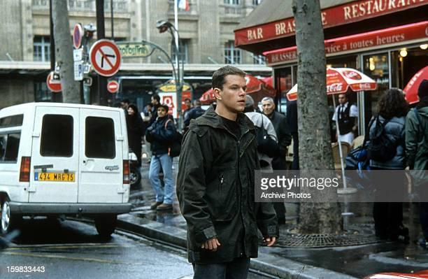 Matt Damon in a scene from the film 'The Bourne Identity' 2002