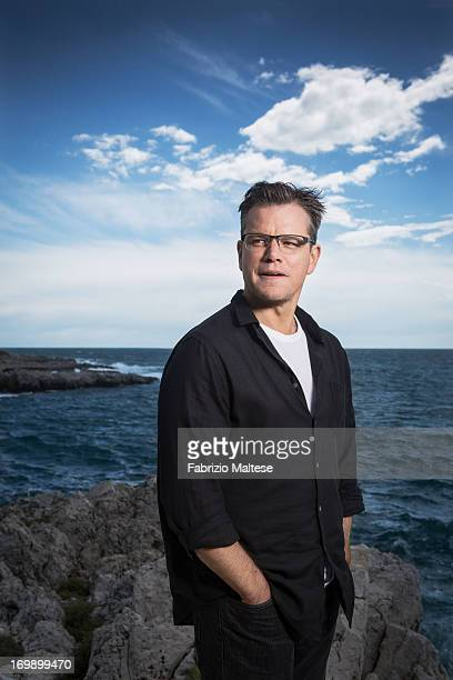 Matt Damon is photographed for Self Assignment on May 20 2013 in Cannes France