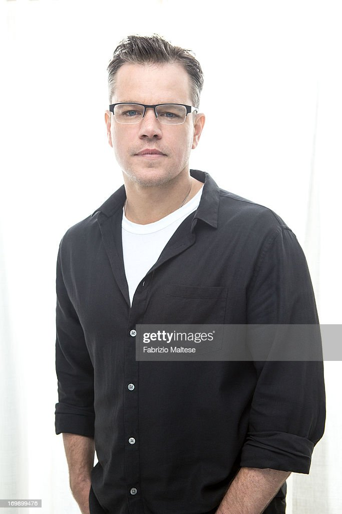 <a gi-track='captionPersonalityLinkClicked' href=/galleries/search?phrase=Matt+Damon&family=editorial&specificpeople=202093 ng-click='$event.stopPropagation()'>Matt Damon</a> is photographed for The Hollywood Reporter on May 20, 2013 in Cannes, France. ON