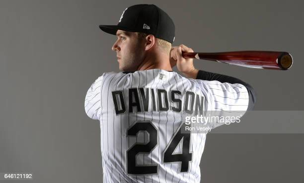 Matt Davidson of the Chicago White Sox poses for a portrait during Photo Day on February 23 2017 at Camelback Ranch in Glendale Arizona