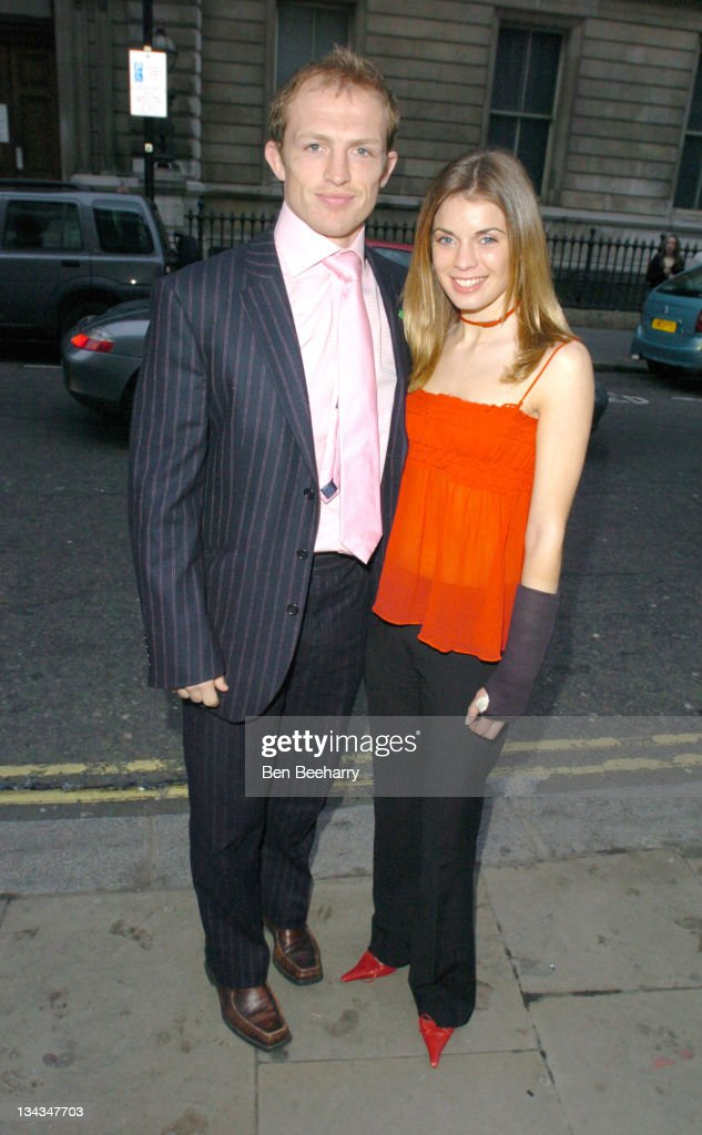 Matt Dawson and guest during 'Romeo and Juliet 'Ballet Arrivals at Royal Opera House Covent Garden in London Great Britain