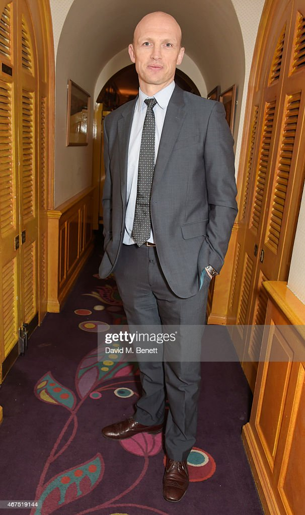 Matt Dawson attends the 6 Nations Review dinner supporting the Matt Hampson Foundation and Wooden Spoon children's charity at Annabel's on March 25...