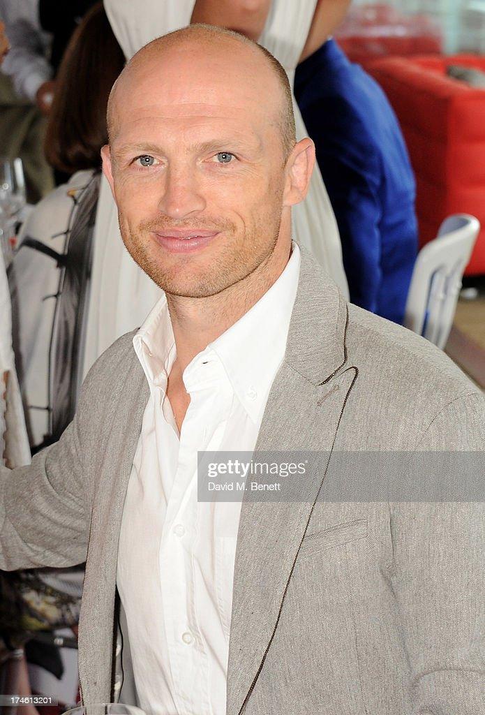 Matt Dawson attends the Audi International Polo at Guards Polo Club on July 28 2013 in Egham England